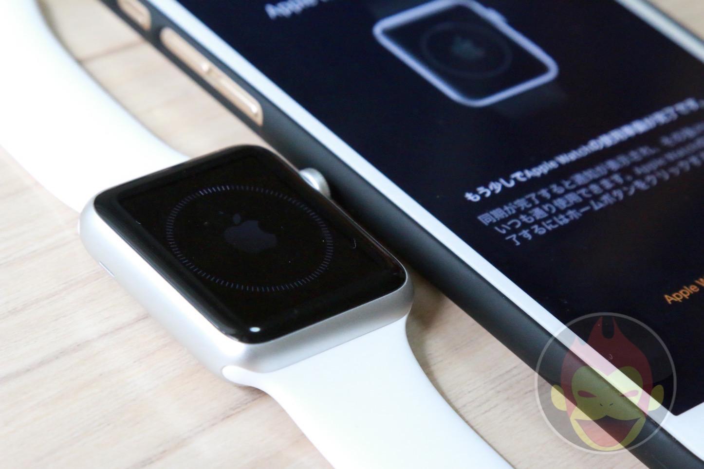 Apple Watchの初期設定