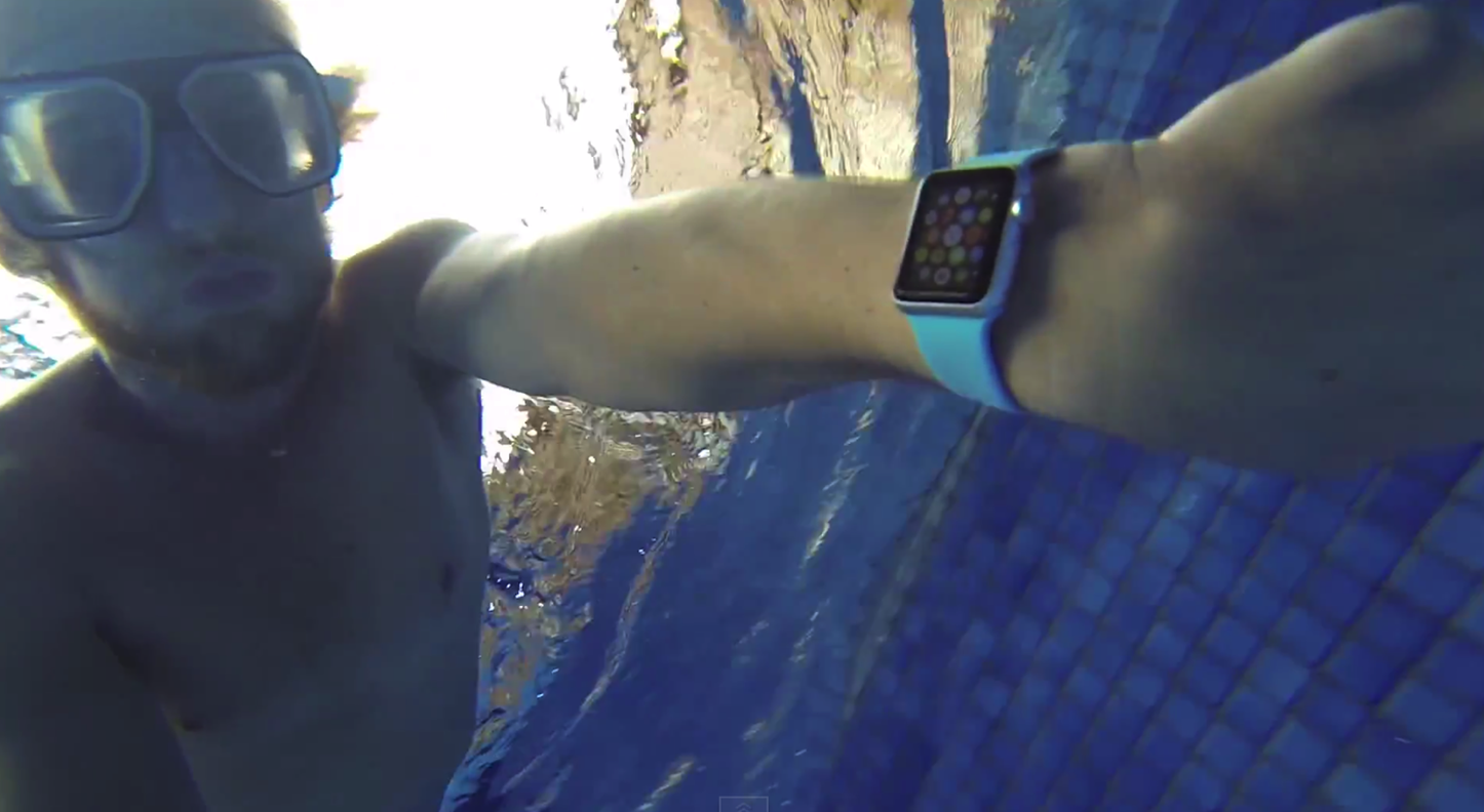 Apple Watch Sport Waterproof