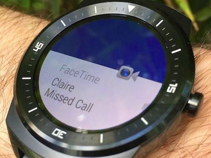 FaceTime Call On Android Wear