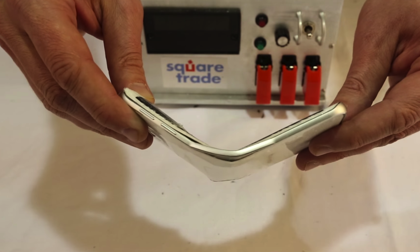 Galaxy S6 Edge is Bendable