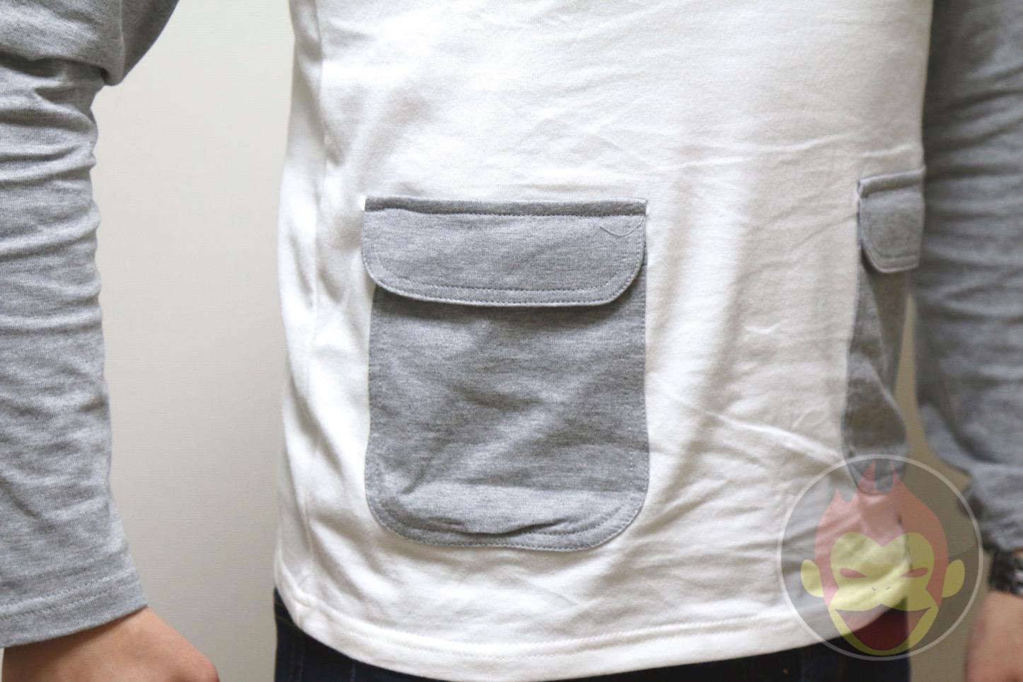 Wamono Clothing iPhone 6が入るTシャツ