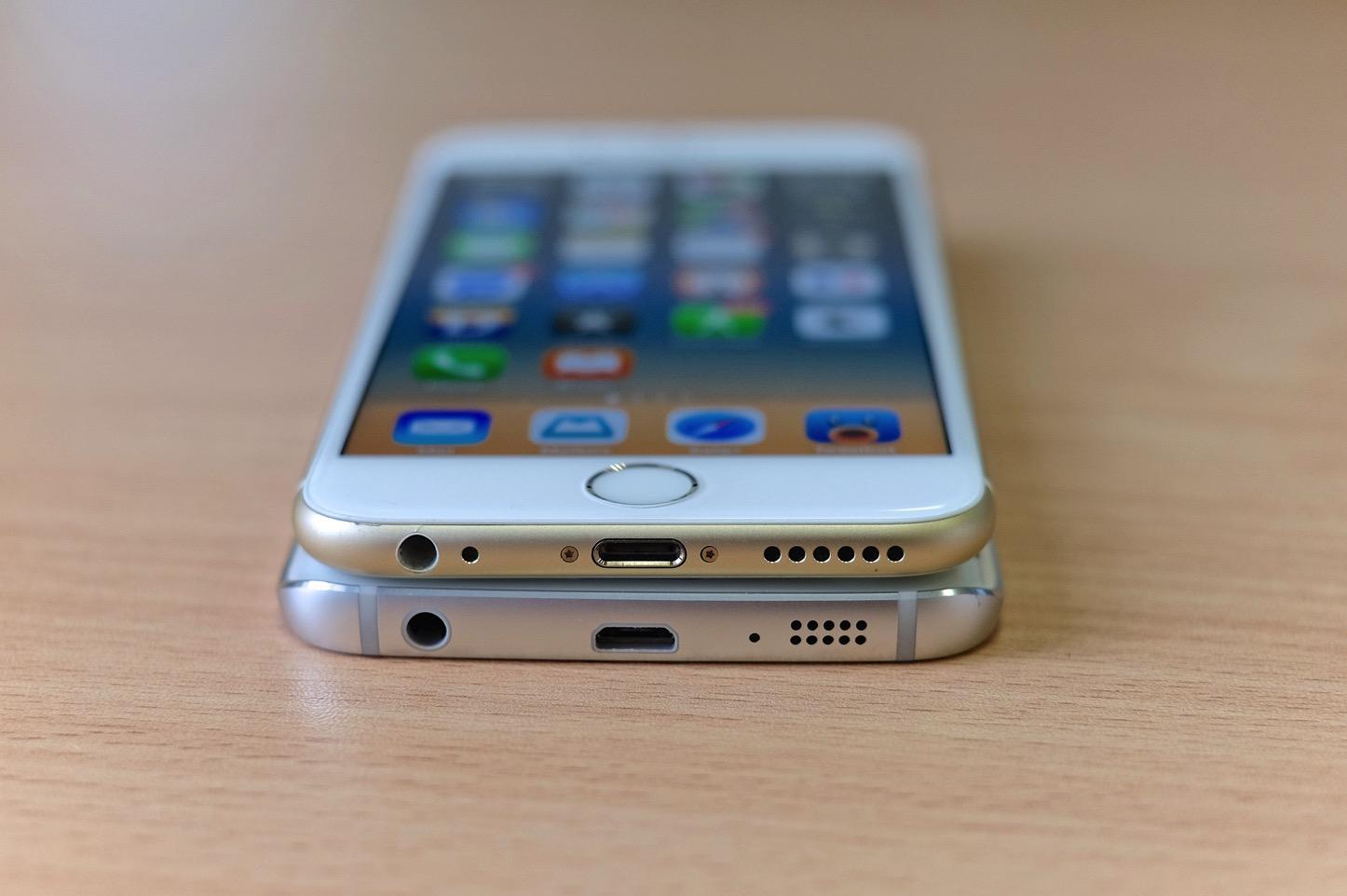 Galaxy s6 edge iphone 6