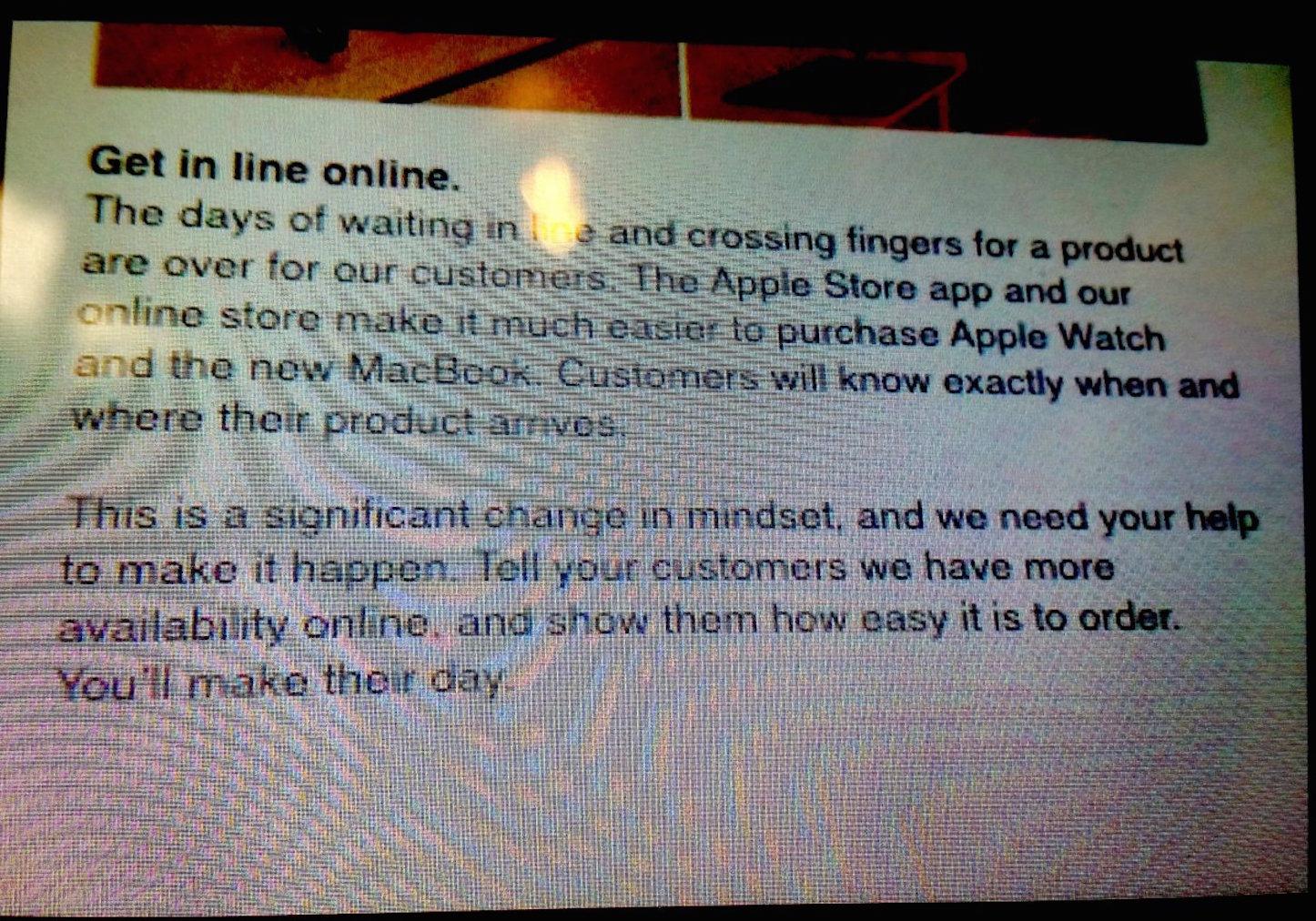 No wait buy online