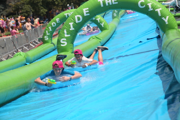 Slide the city Odaiba
