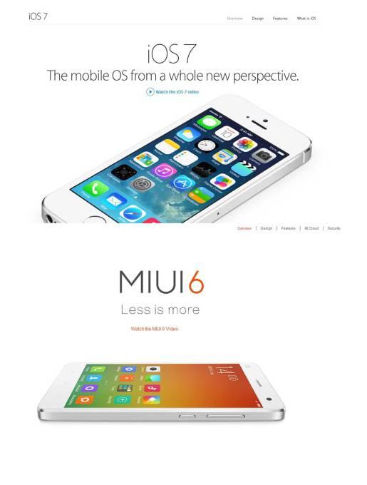 Xiaomi copycat mi phone