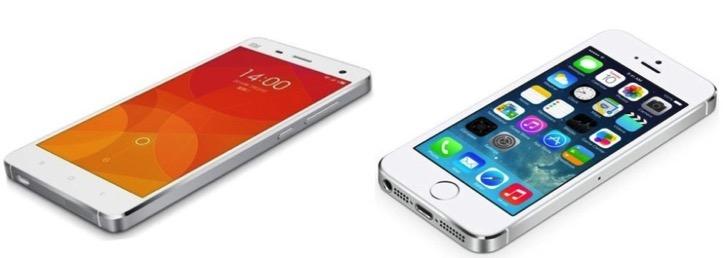 Xiaomi copycat phone