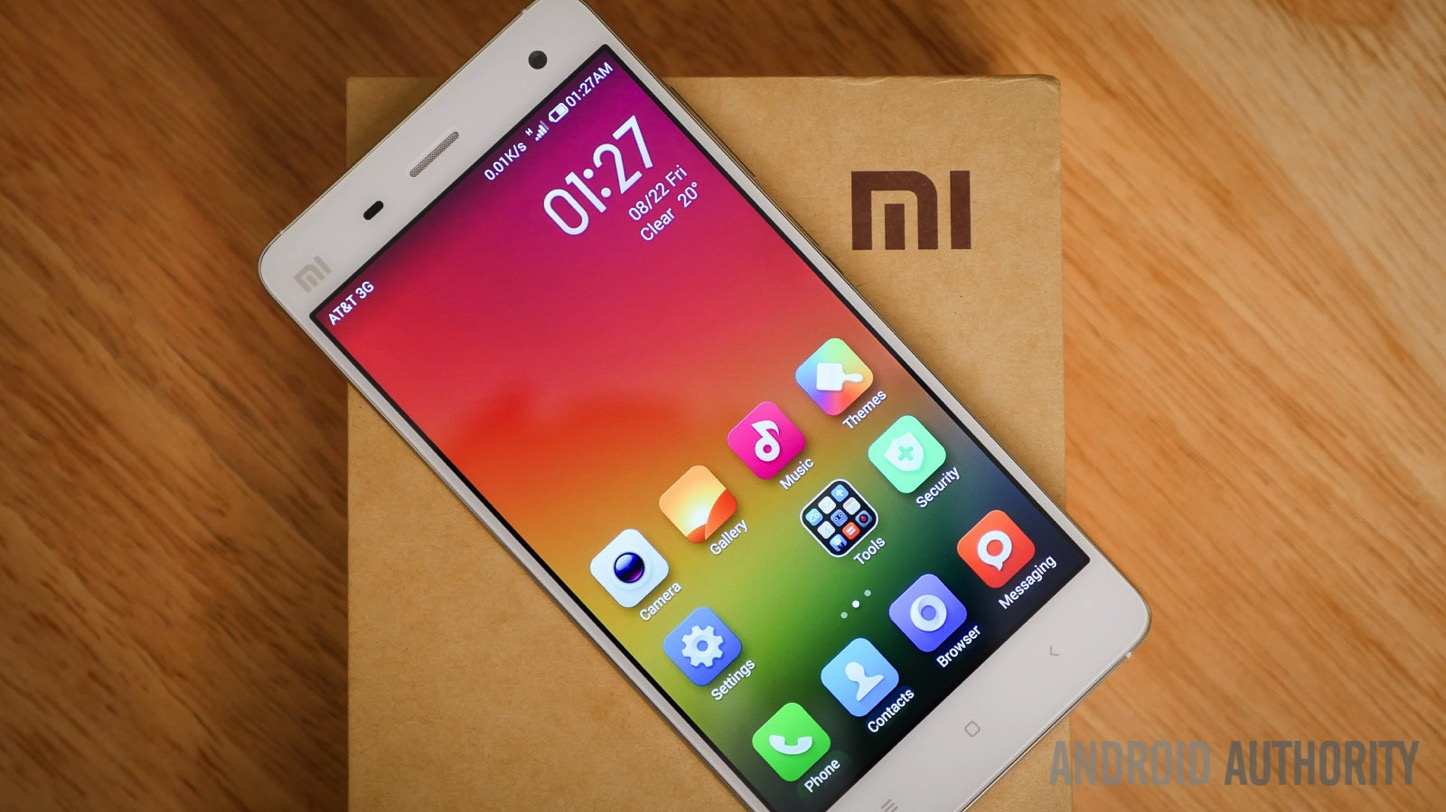 Xiaomi mi4 android authority