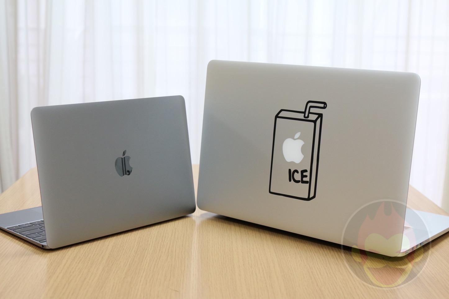 12インチ型MacBookと15インチ型「MacBook Pro Retina」の外観やスペックを比べてみた