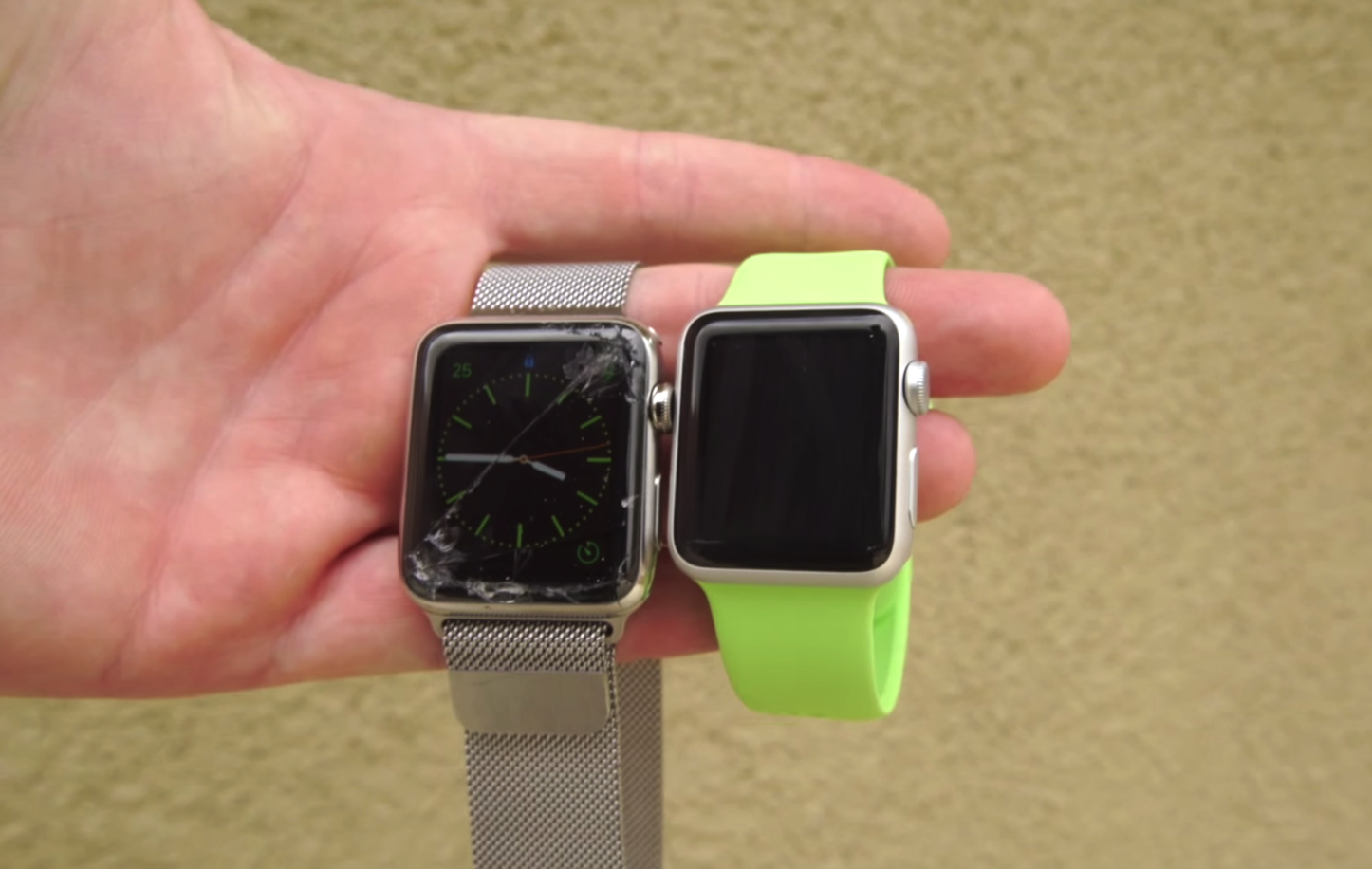 Apple Watch Display Crack 3