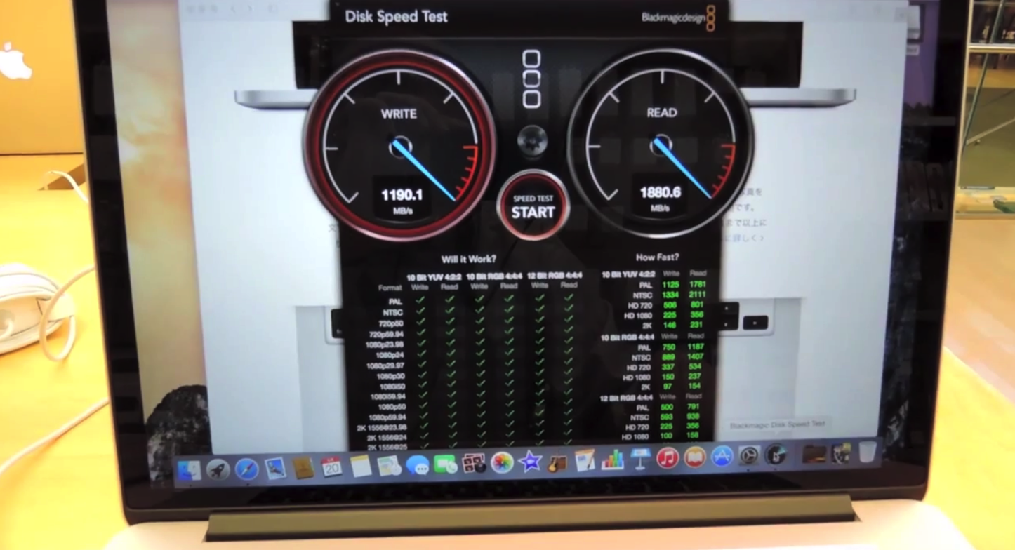 MacBook Pro Mid 2015 Benchmark