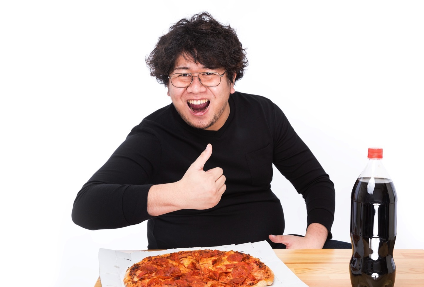 LIGブログ編集長、朽木 誠一郎の「意識の低いダイエット写真素材」