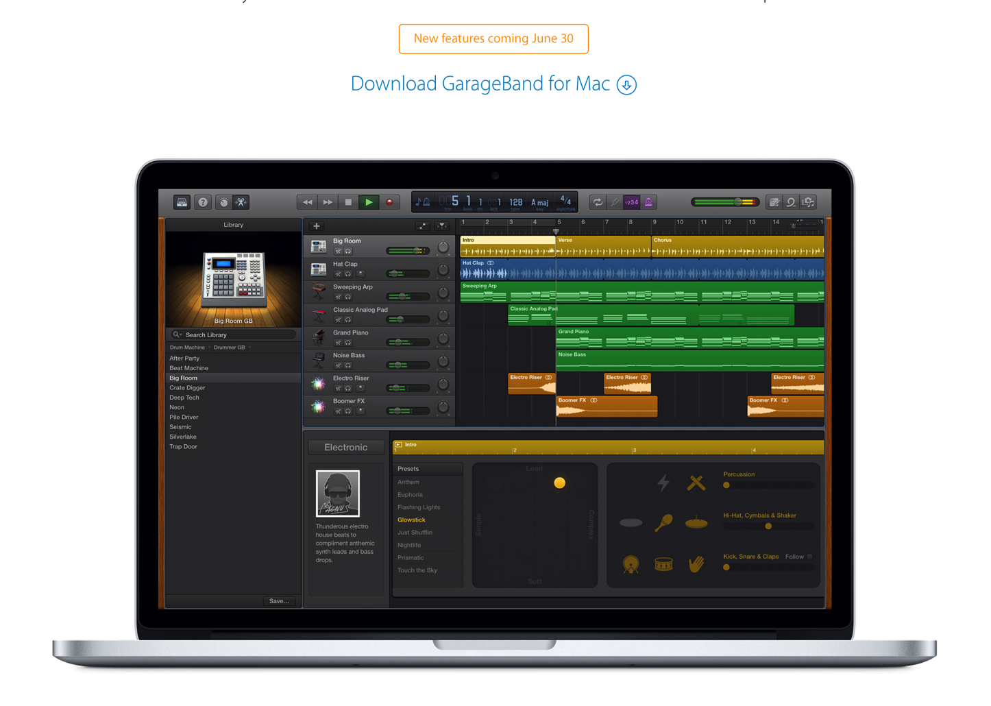 Garage Band for Mac
