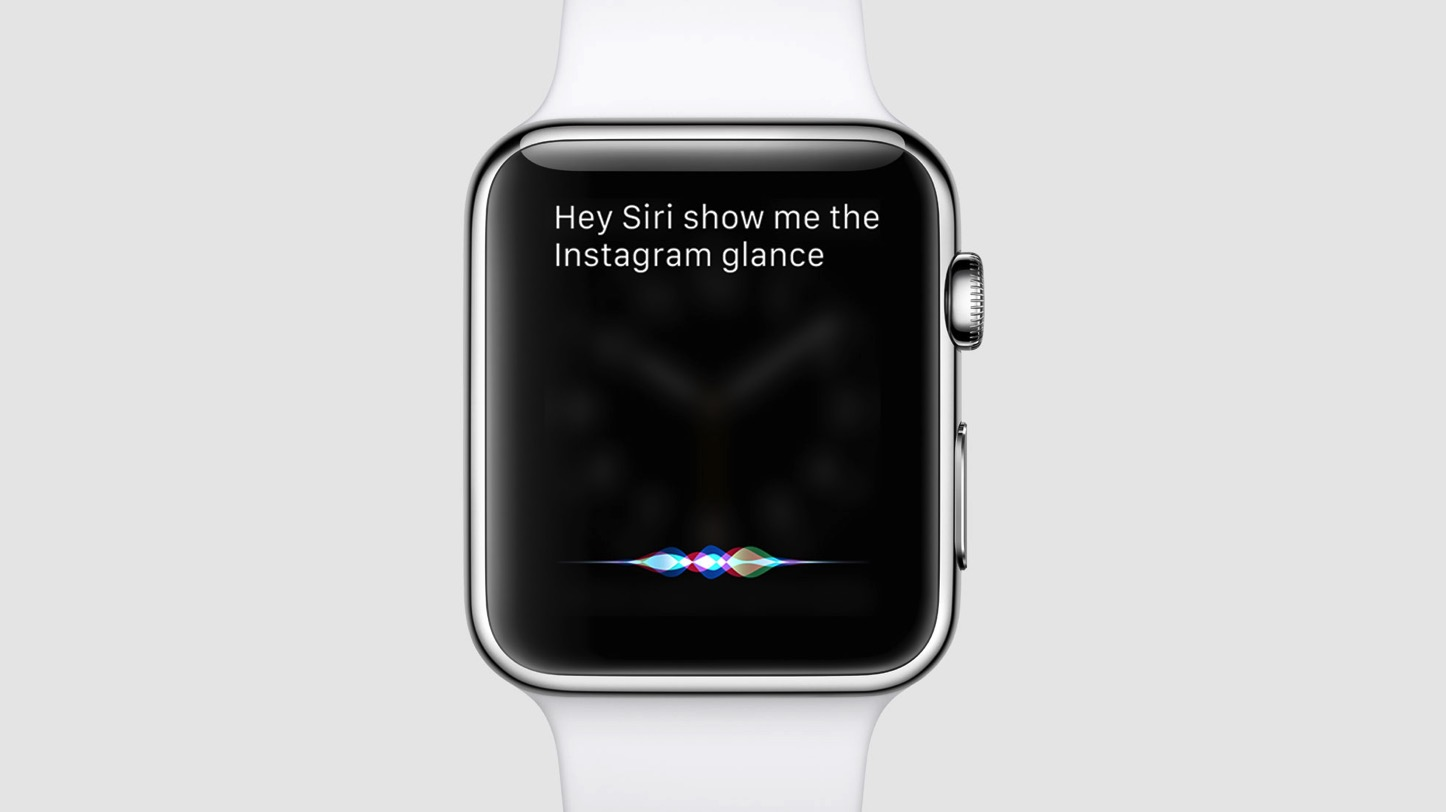 Show Glance with Siri