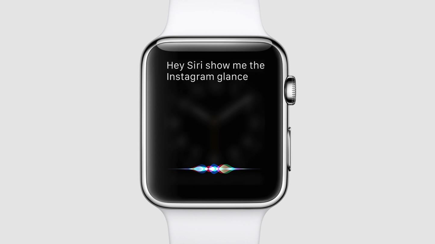 Show Glance with Siri