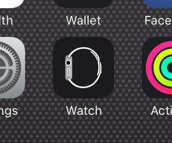 Watch app renamed