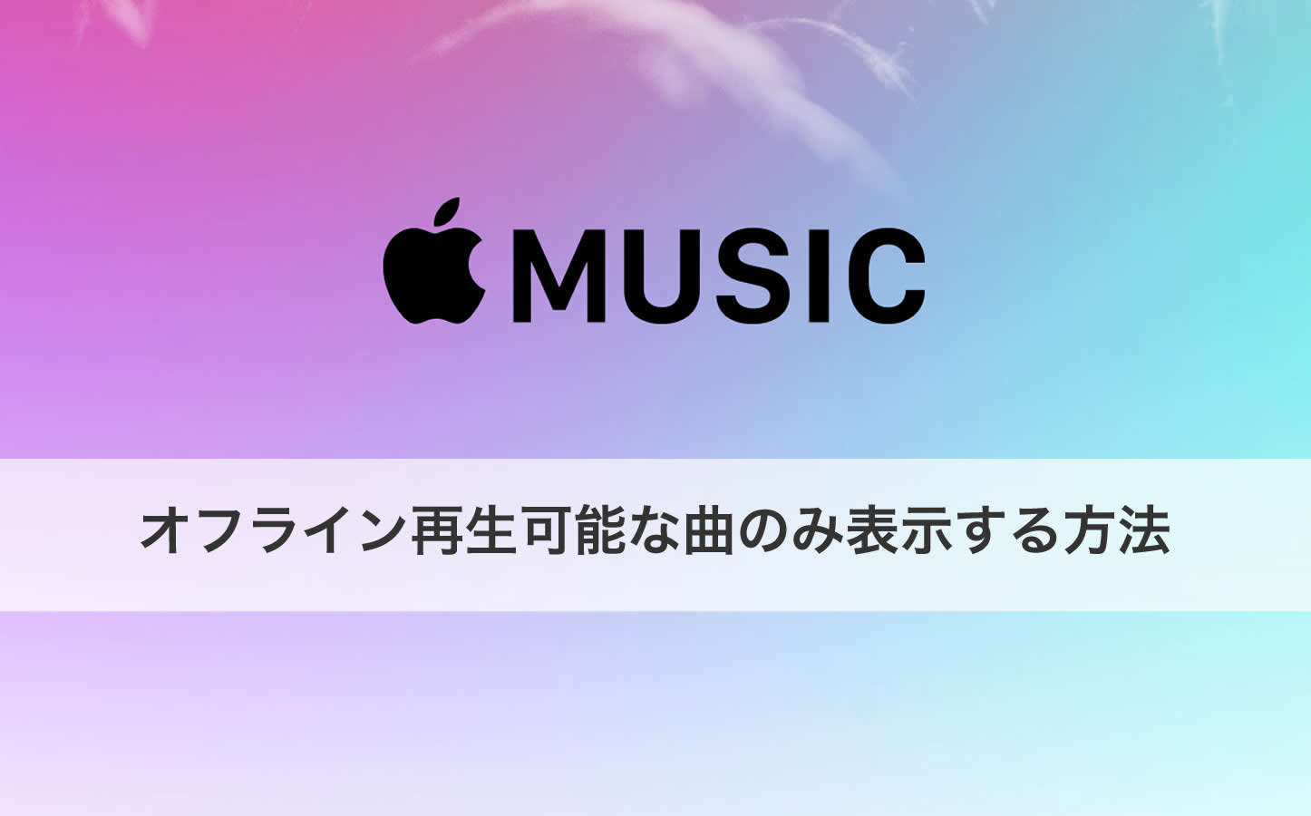 Apple Music Offline Songs