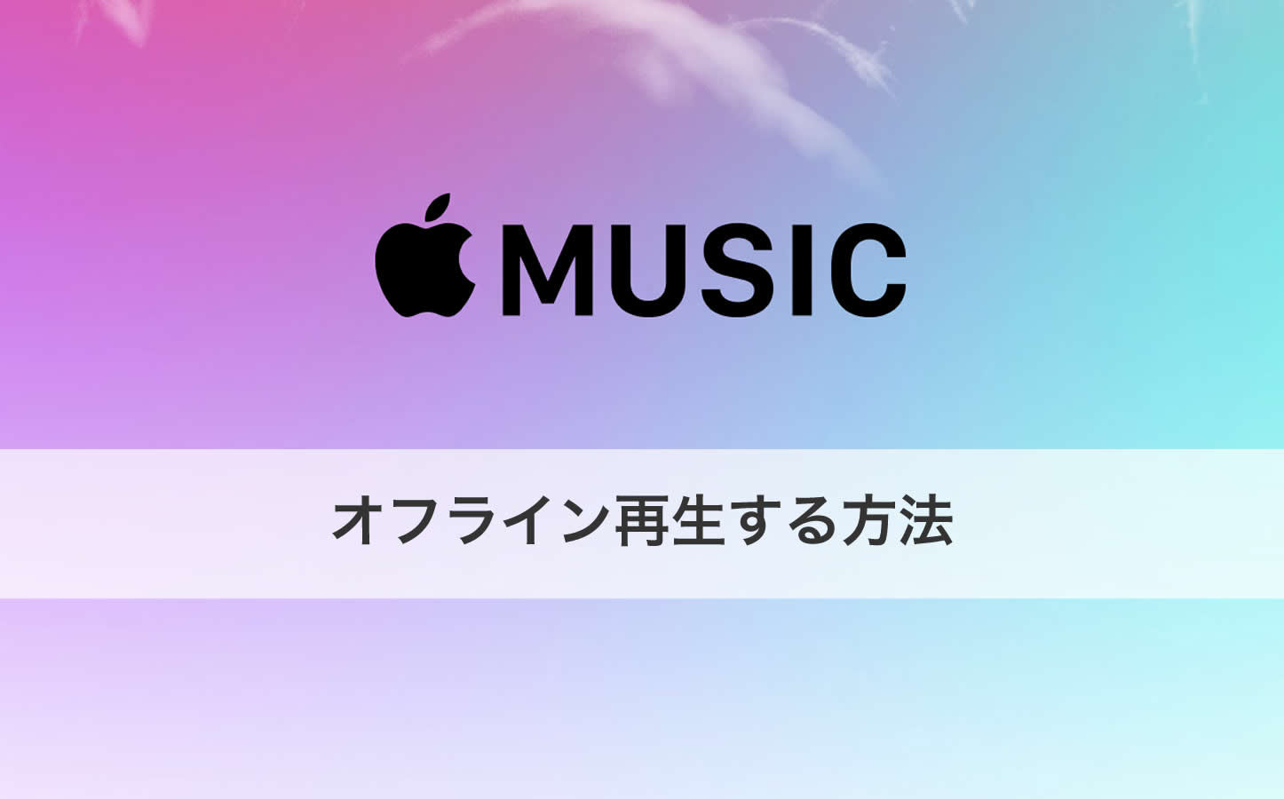 Apple Music Offline