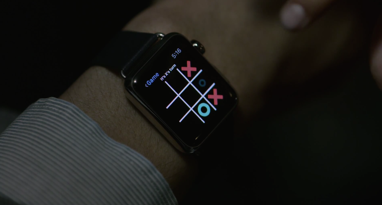 Apple Watch TV CM
