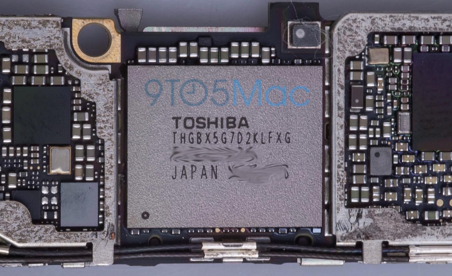 Toshiba Storage Chip 9To5Mac