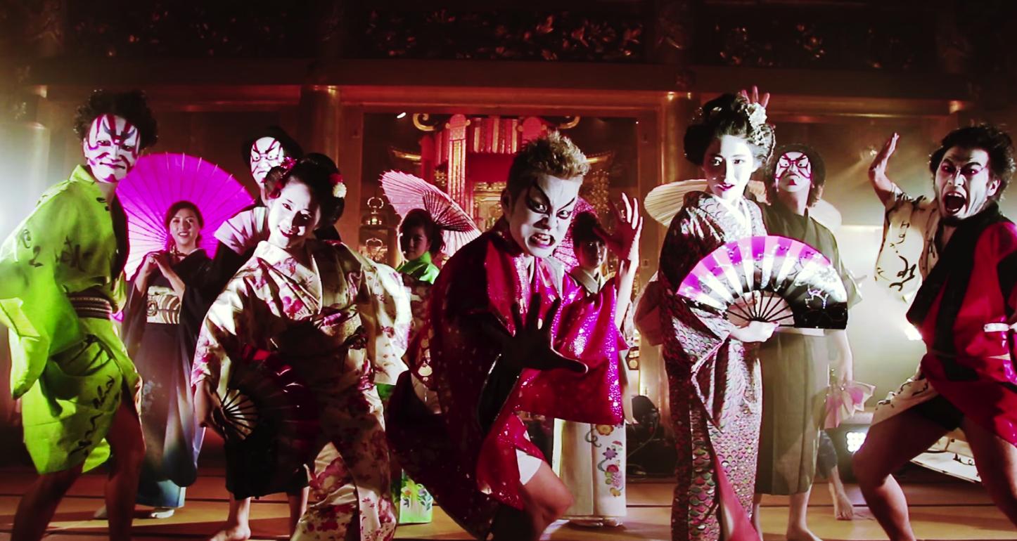 Uptown Funk Kabuki Version