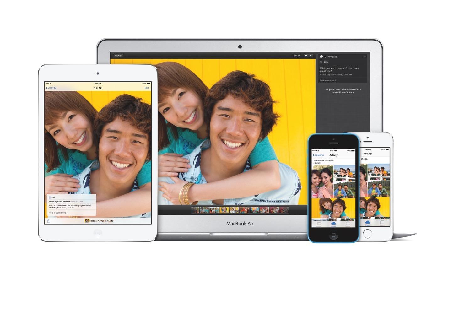 ICloud mini MBA iPhone5s iPhone5c