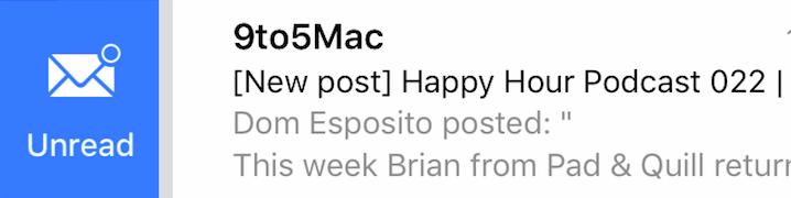 IOS 9 Mail App
