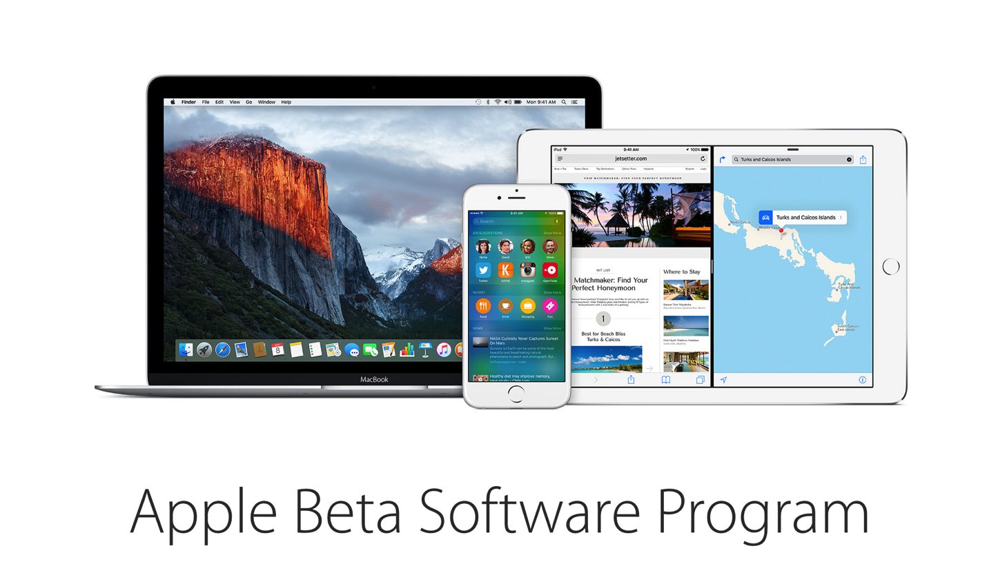 IOS9 El Capitan Public Beta Program