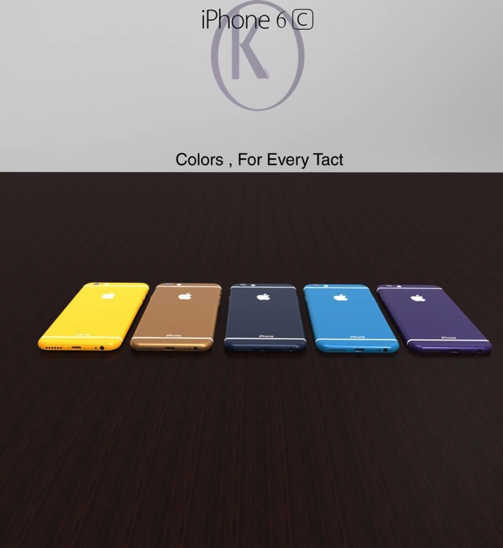 IPhone 6c concept Kiarash Kia