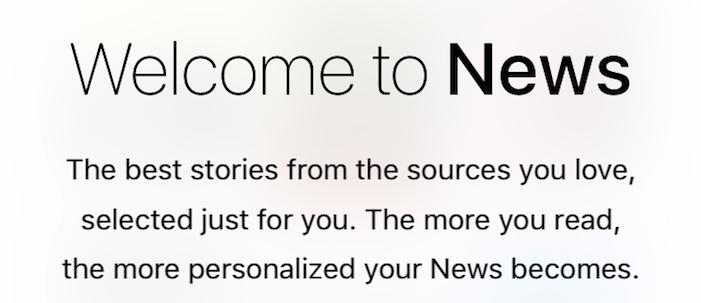 iOS 9 Newsアプリ