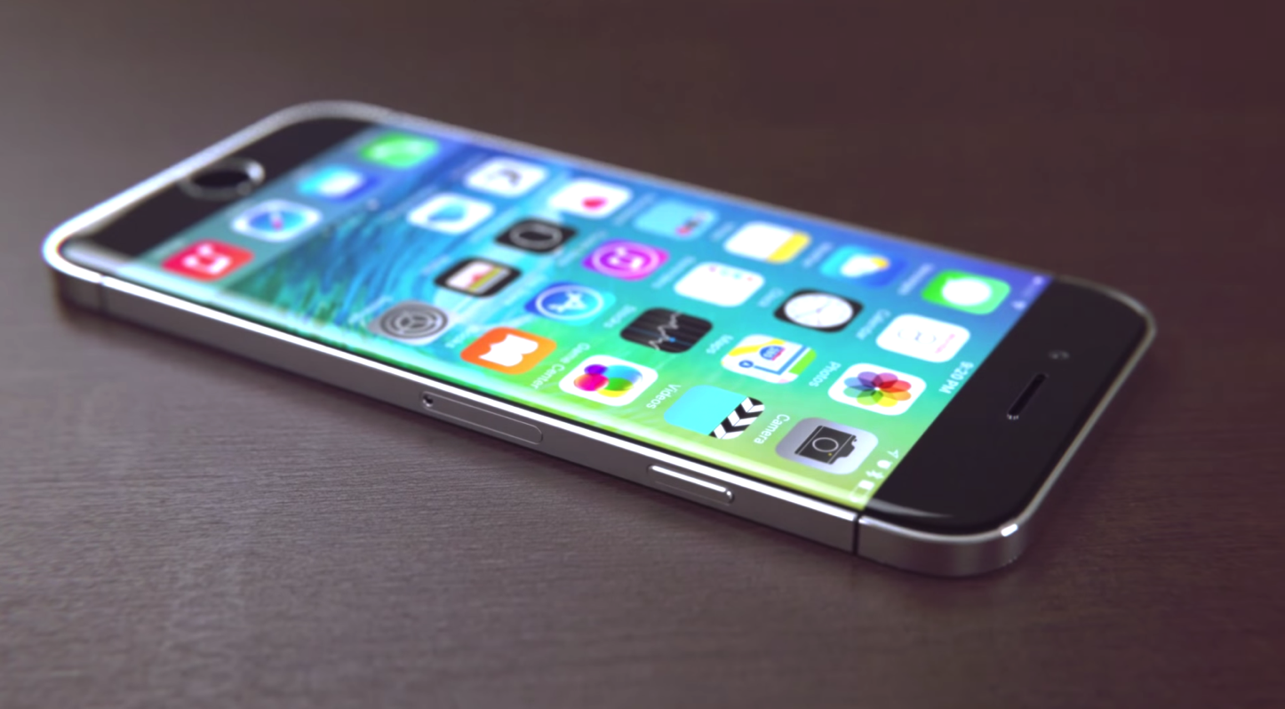 iPhone 7 concept for 2016