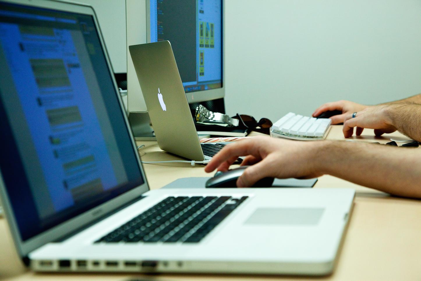 Macs at work