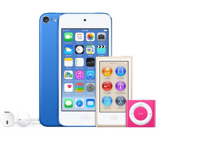 New ipod colors