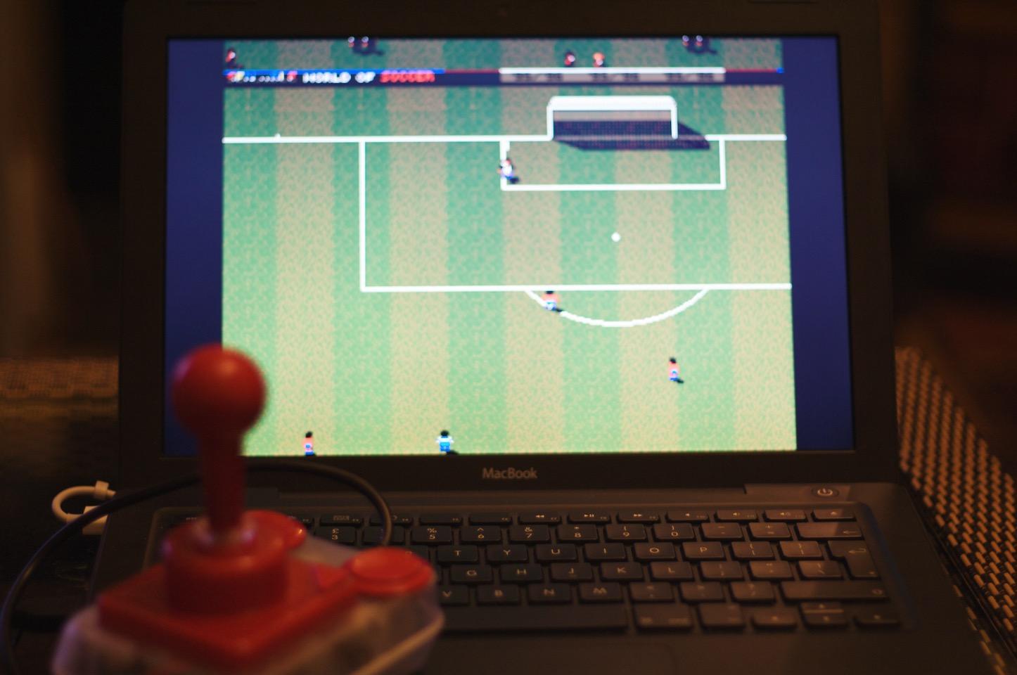 Soccer macbook