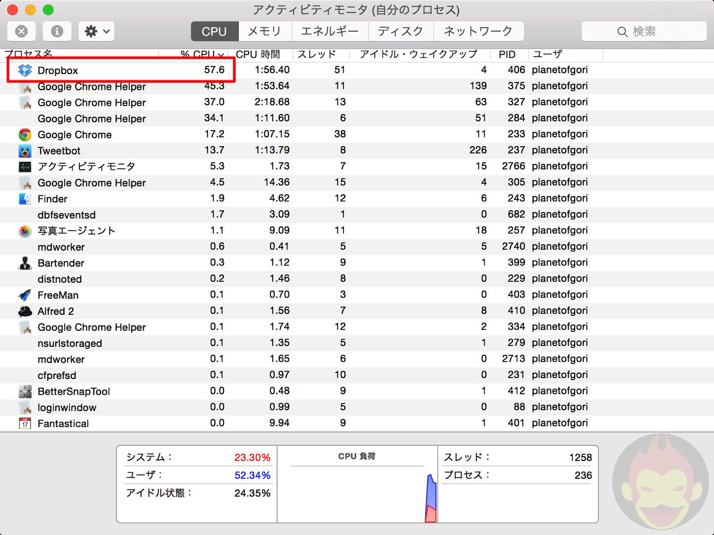 Dropbox Using Too Much RAM 01