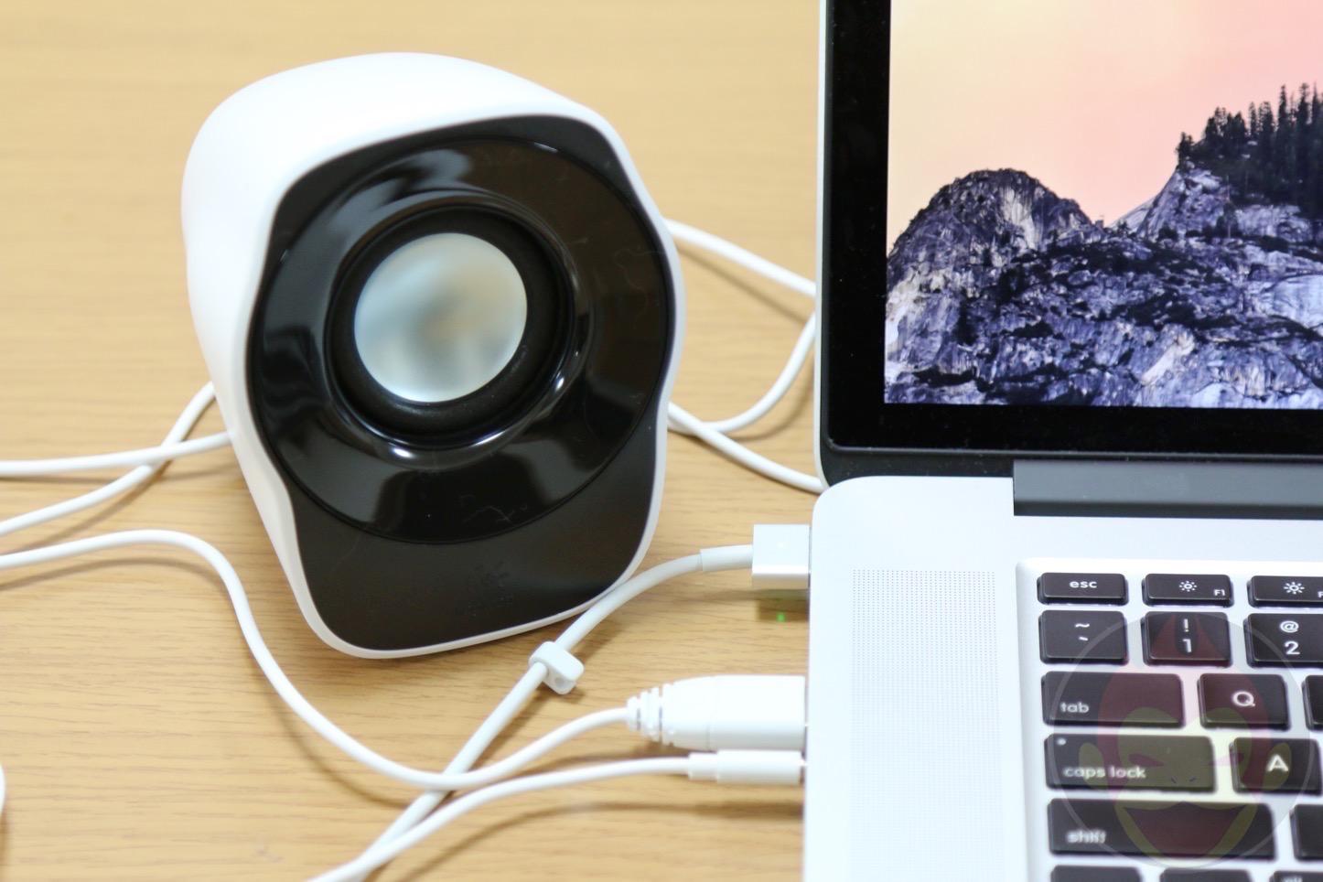 Logicool Stereo Speaker Z120BW