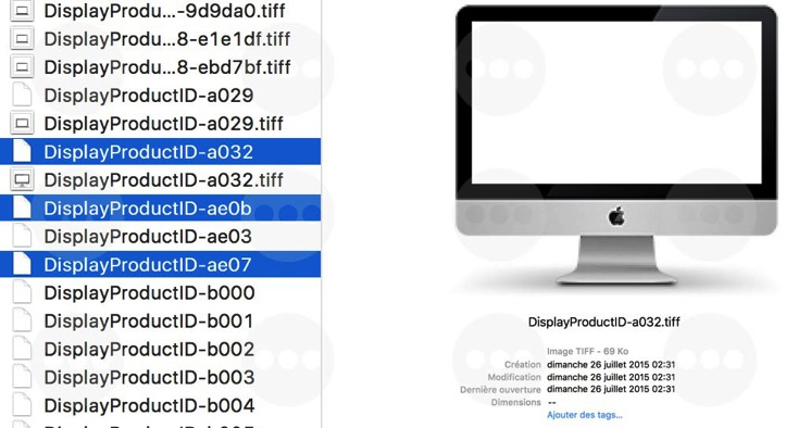 iMac 21.5インチ4Kディスプレイ