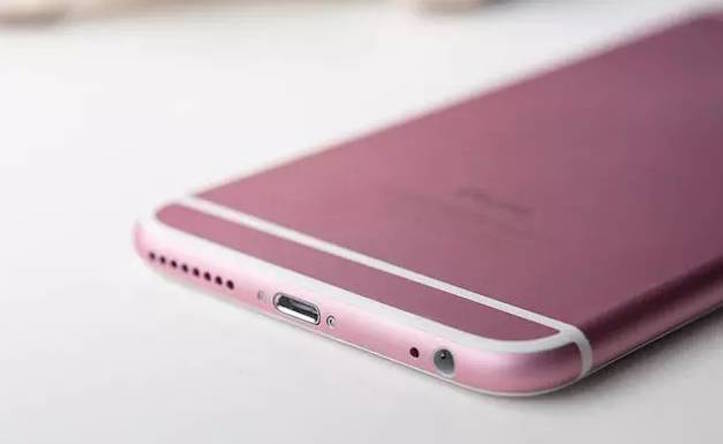 Fake pink iphone 6s