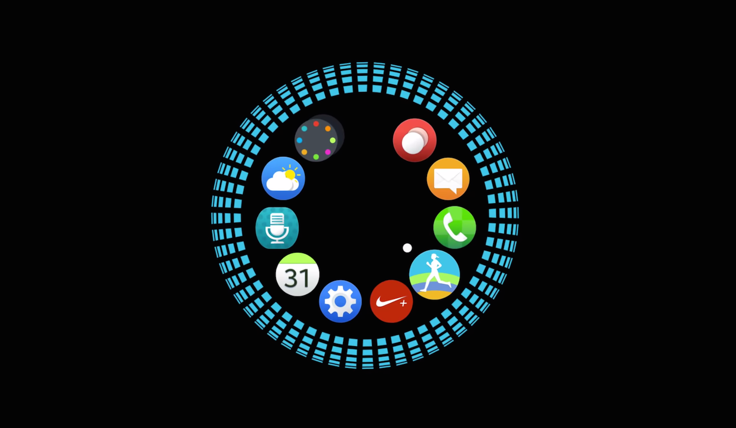 Full screen usage