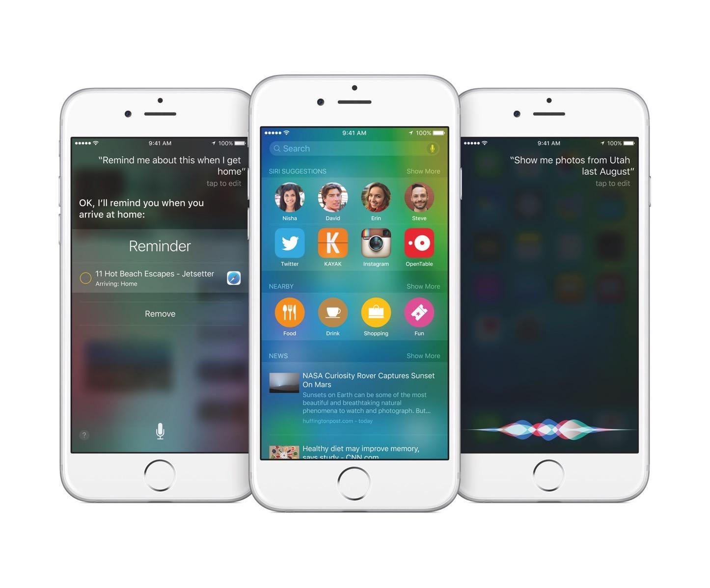 IOS9 iPhone