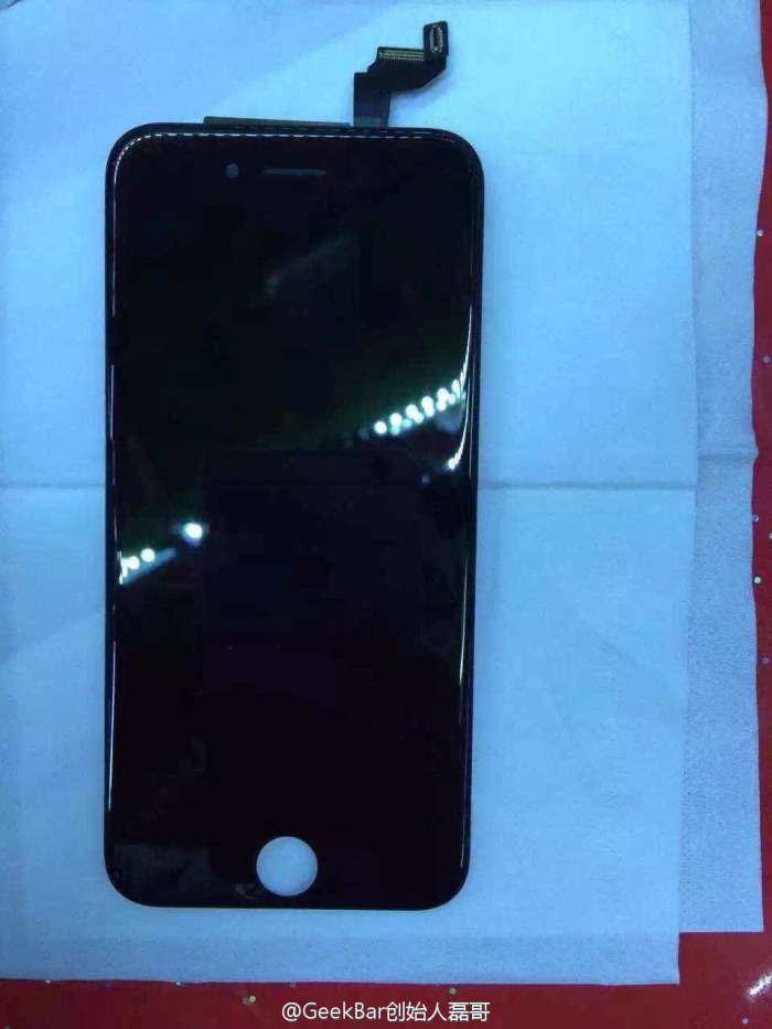 IPhone6s front panel leaked 1