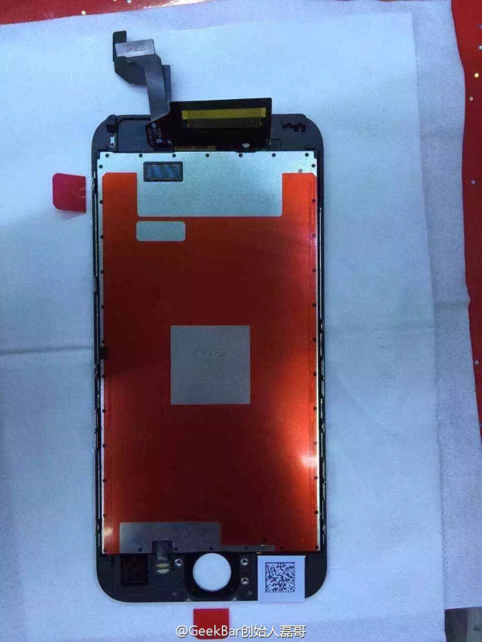 IPhone6s front panel leaked 2