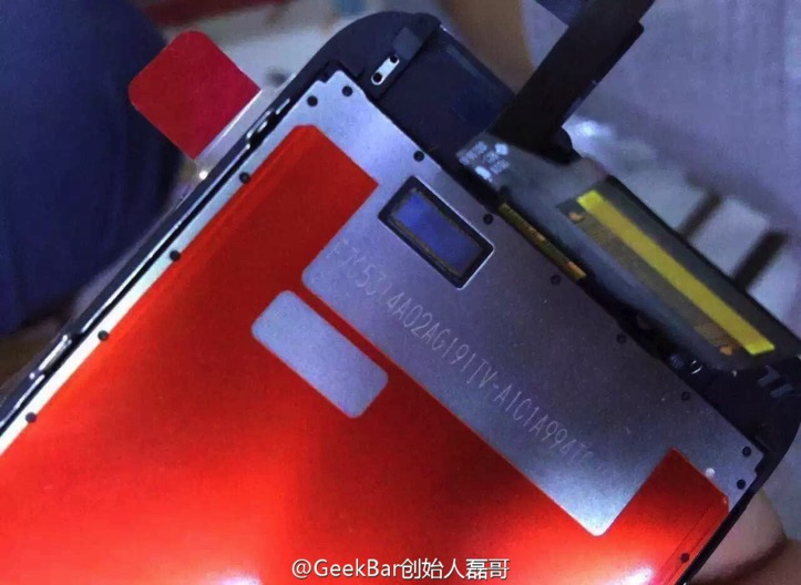 IPhone6s front panel leaked 3