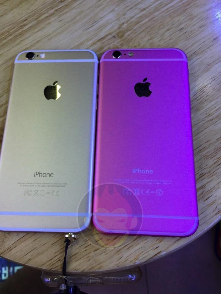 iPhone 6sのピンクモデル