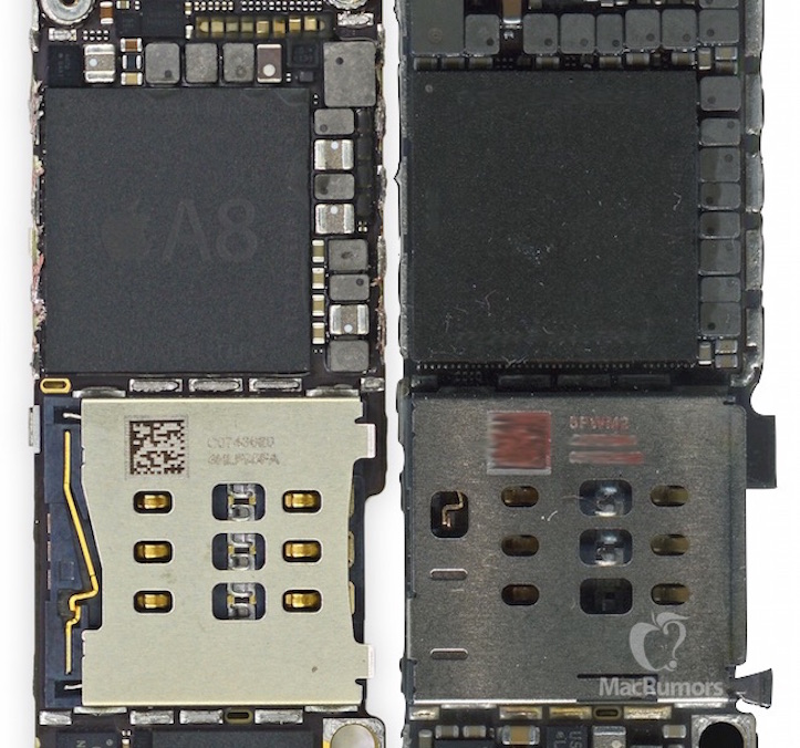 Iphone 6s 6 chips