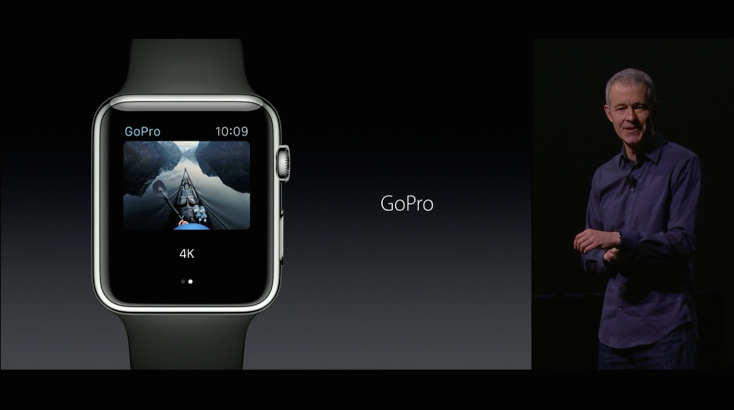 Apple Watch GoPro