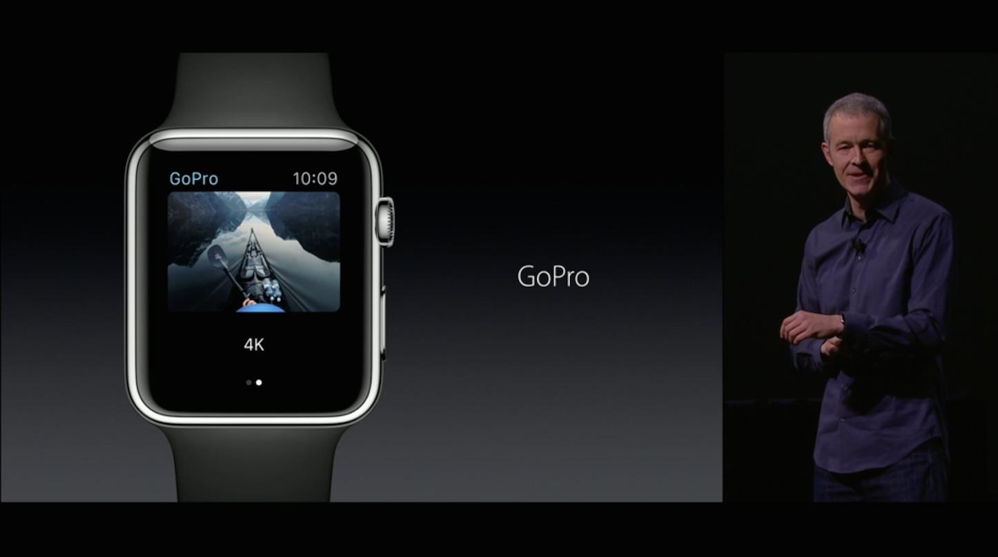 Apple Watch GoPro