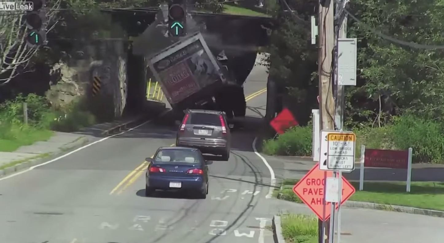 Trash Hits Bridge
