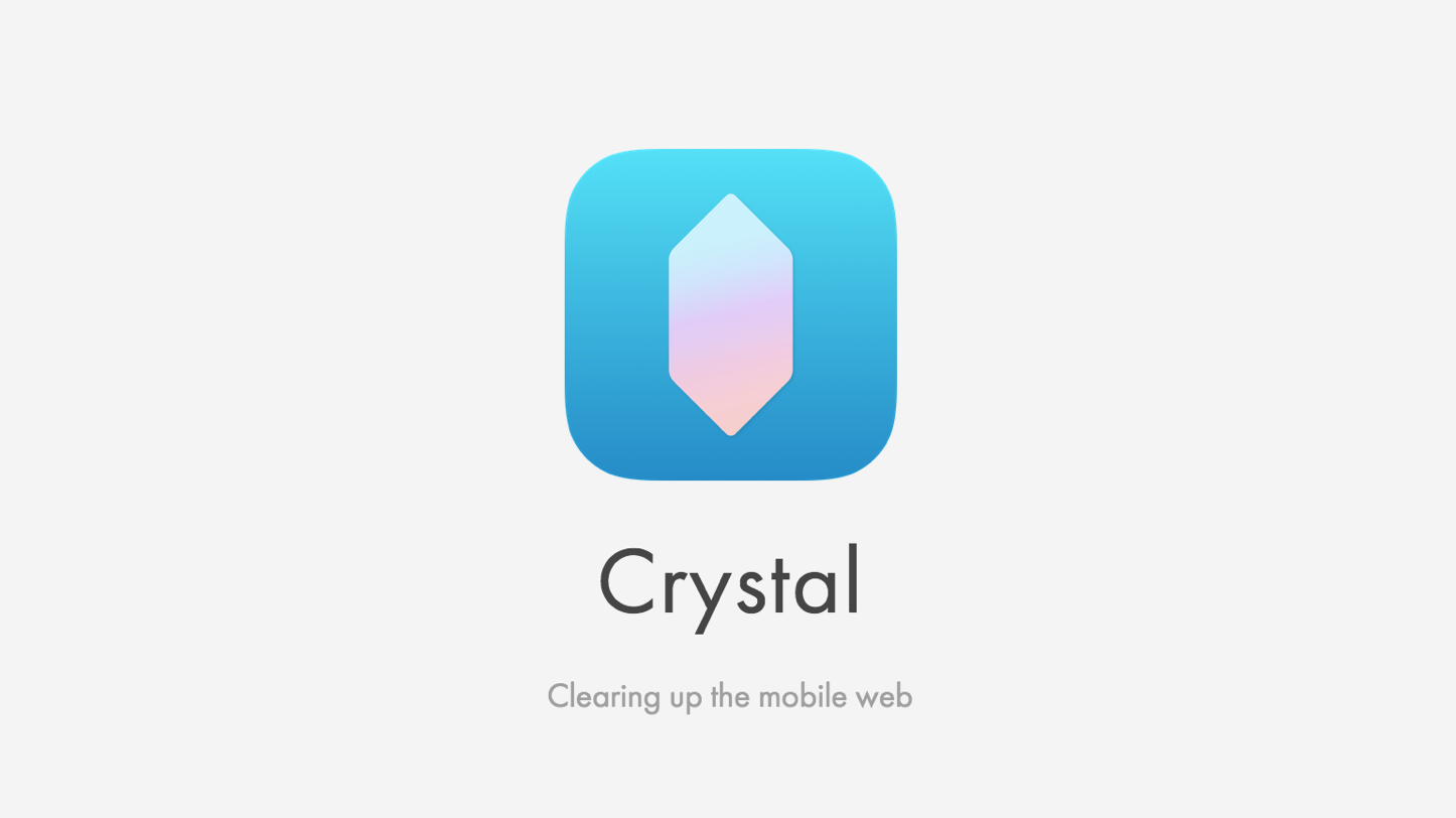 Crystal ad blocker