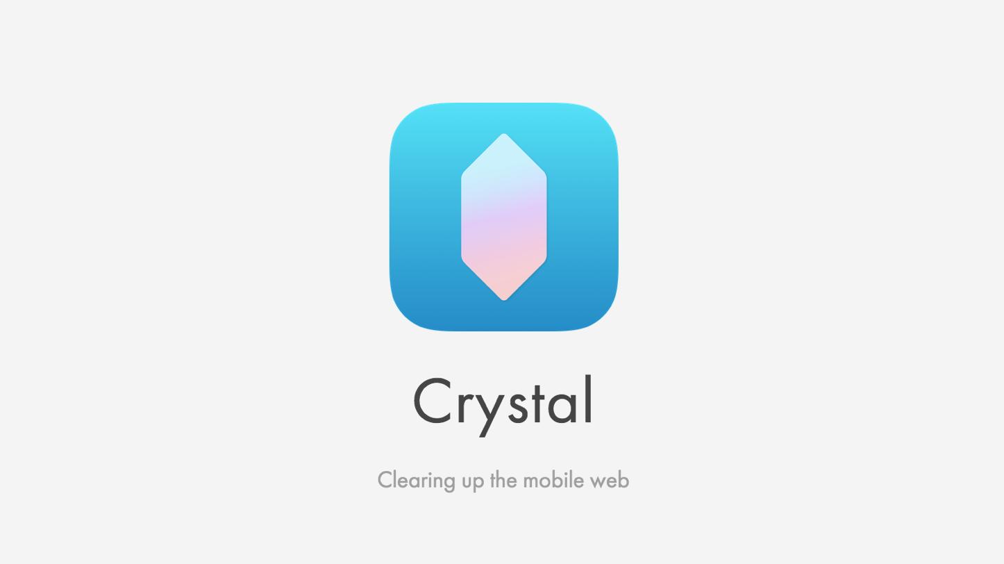 Crystal ad blocker