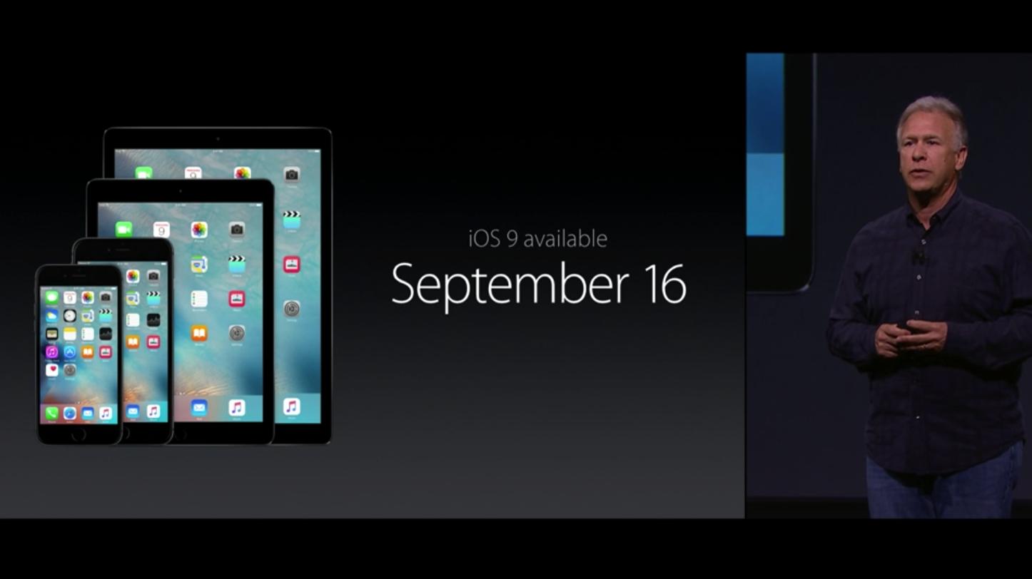 IOS 9 Release